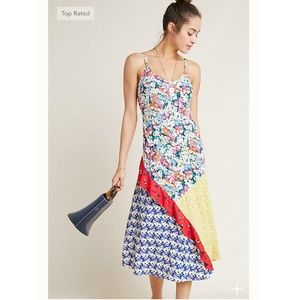 Anthropologie Colloquial Bias Party Dress XSP